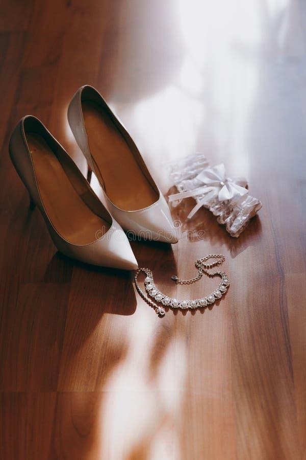 De bruidsmeisjekleding royalty-vrije stock foto