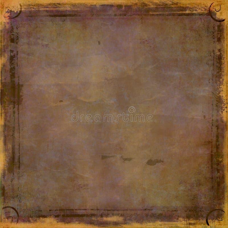 De bruine achtergrond van Grunge royalty-vrije stock foto's