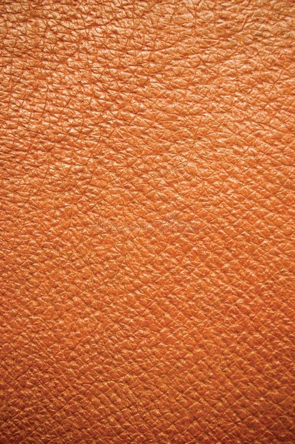De bruine Achtergrond van het Leer stock afbeelding