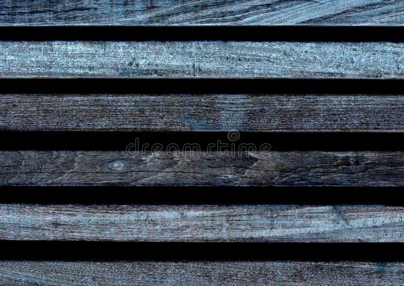 De bruine achtergrond van de plank houten muur Houten muurachtergrond of textuur het kruis procesed Oude uitstekende stijl stock foto's