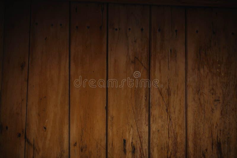 De bruine houten textuur, steekt houten abstracte achtergrond aan stock afbeelding