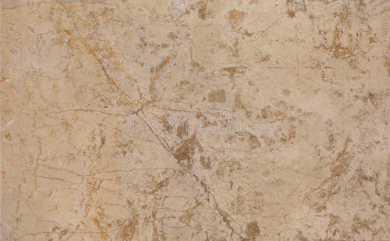 De bruine marmeren muur of bevloeringstextuur van de patroonoppervlakte Close-up van binnenlands materiaal voor de achtergrond va royalty-vrije stock afbeelding