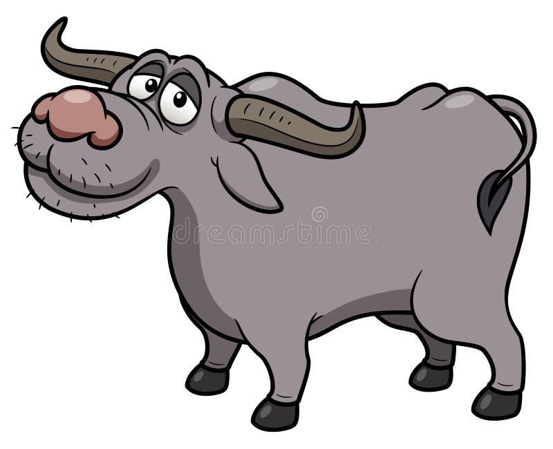 De Buffels van het beeldverhaal royalty-vrije illustratie