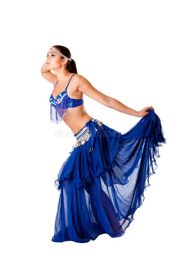 De buikdanser van de harem royalty-vrije stock afbeeldingen