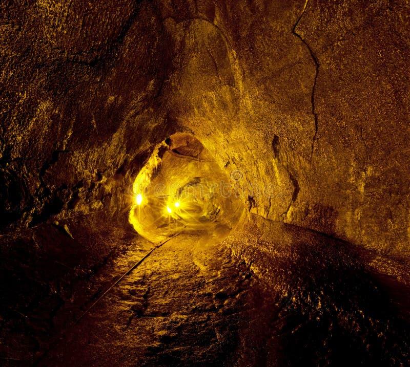 De buis van de lava royalty-vrije stock afbeelding