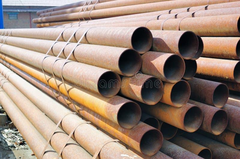 De buis van het staal royalty-vrije stock afbeelding