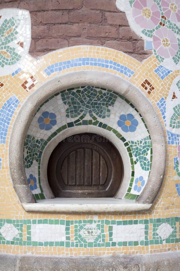 De Buitenkant van Barcelona stock fotografie
