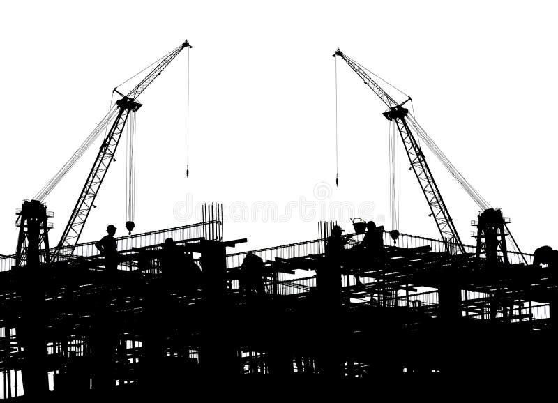 De buitenkant van de bouw royalty-vrije stock foto's