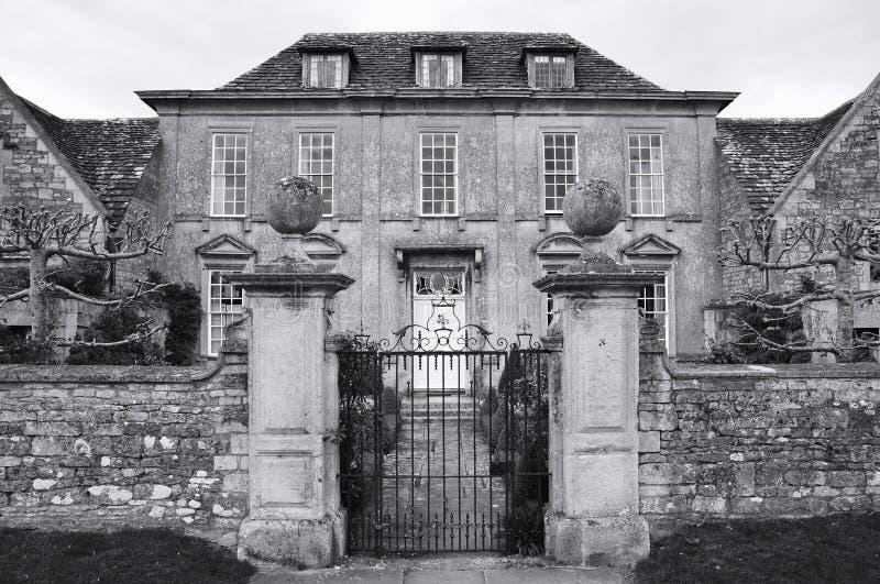 De Buitenkant van de manor royalty-vrije stock foto's