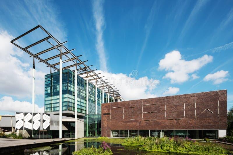 De buitenkanten van museumboijmans Van Beuningen royalty-vrije stock foto's