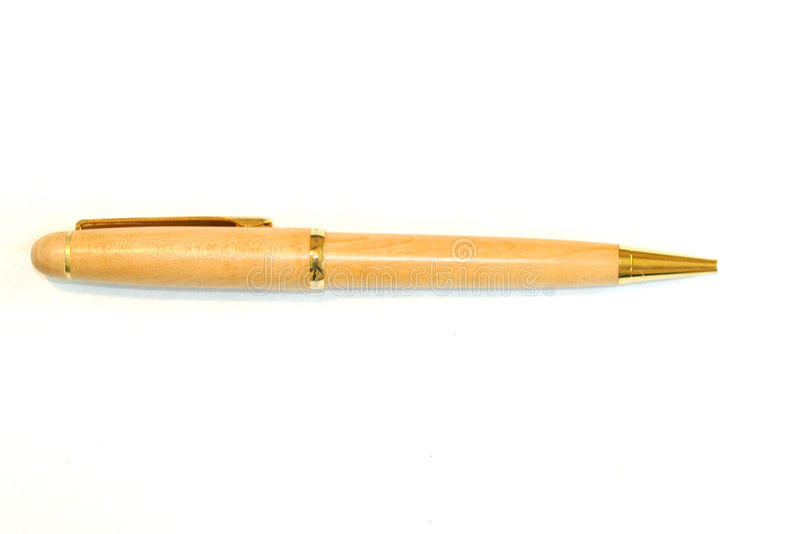 De Buitensporige Pen Van De Inkt Royalty-vrije Stock Foto's