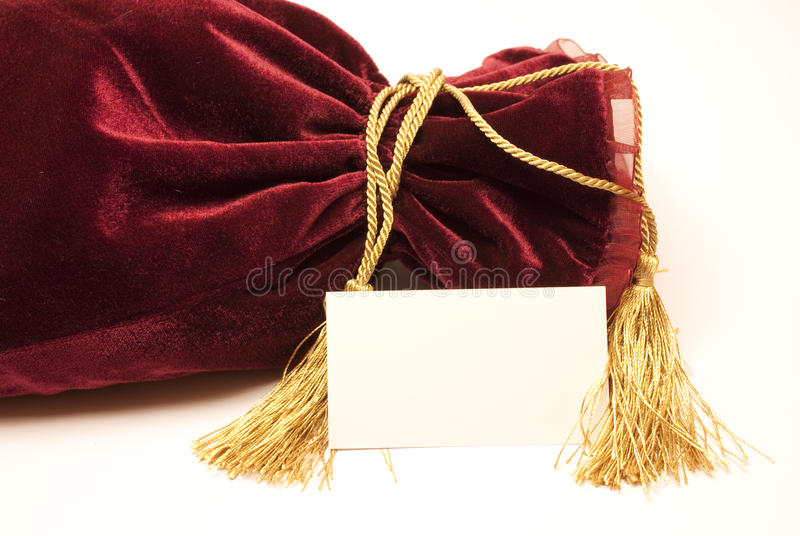 De buitensporige zak van de luxegift royalty-vrije stock foto's