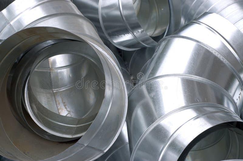 De buizen van het staal royalty-vrije stock afbeelding