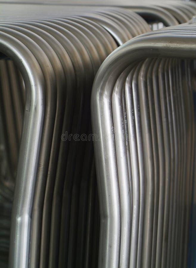De buizen van het staal royalty-vrije stock foto