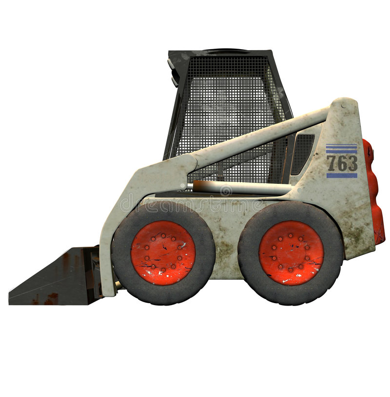 De bulldozer van Bobcat stock fotografie