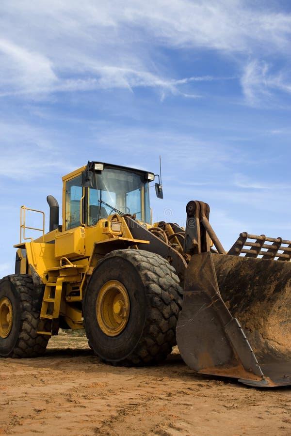 De Bulldozer van de bouw stock foto's
