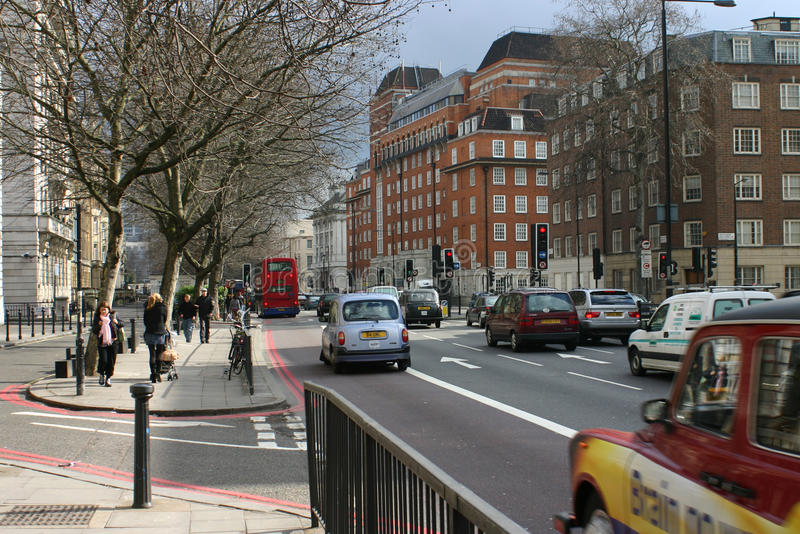 De bundel, Londen royalty-vrije stock foto's