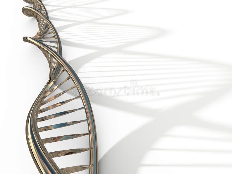 De bundel van DNA stock illustratie
