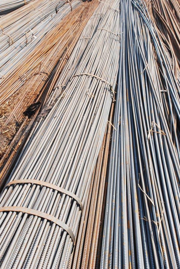 De bundels van de staalstaaf stock afbeelding