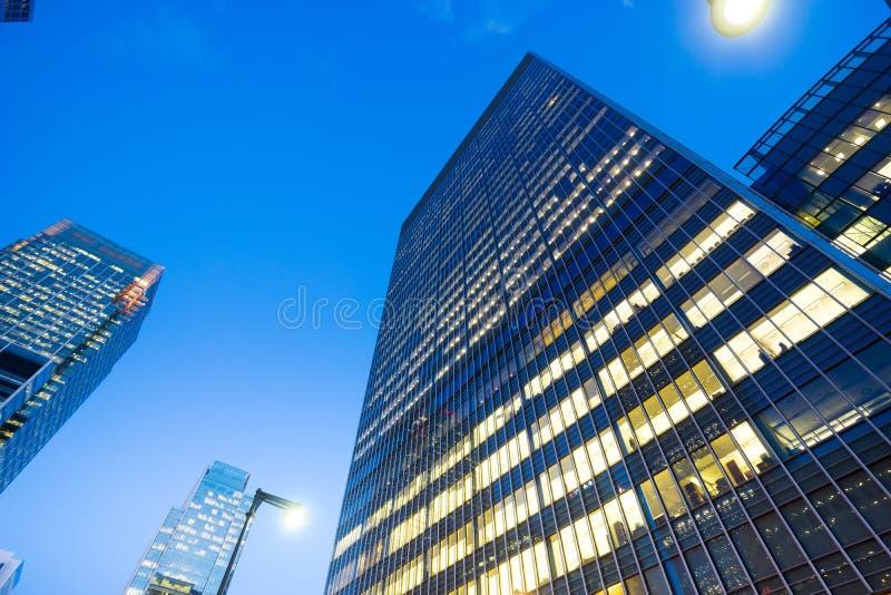De bureaubouw in Londen, Engeland royalty-vrije stock foto
