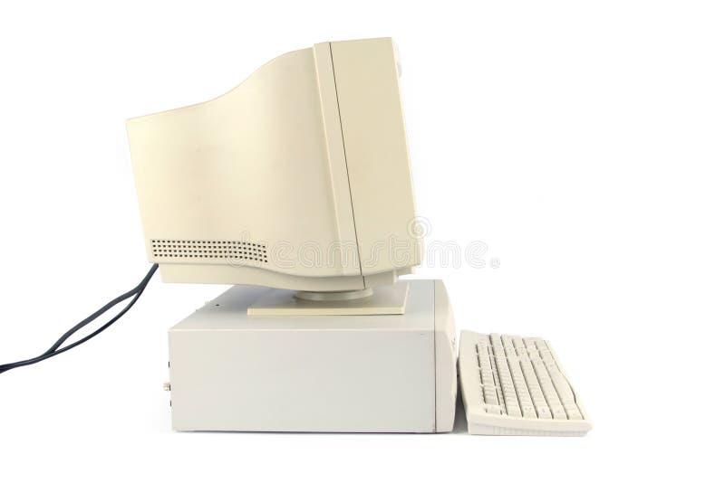 De bureaucomputer van  royalty-vrije stock foto
