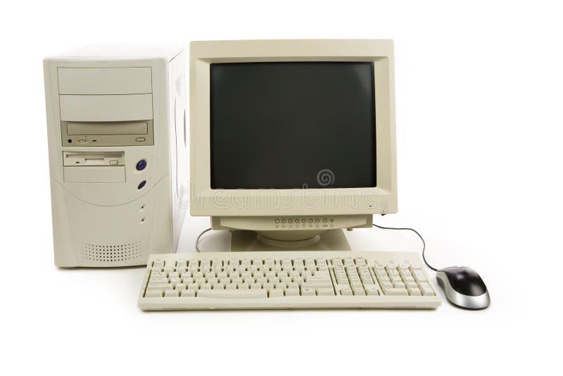 De Bureaucomputer van  royalty-vrije stock afbeelding