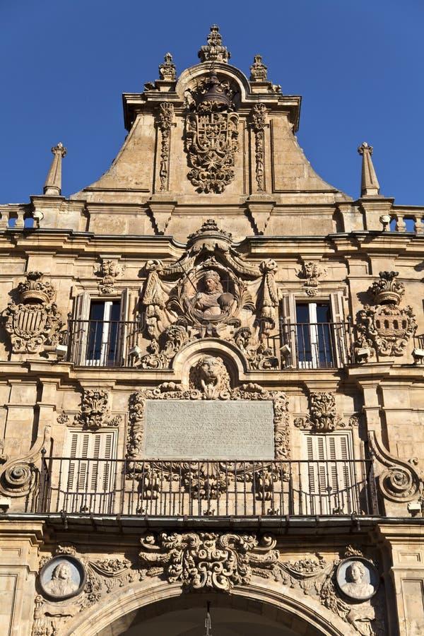 De Burgemeester van het Plein van Salamanca royalty-vrije stock fotografie