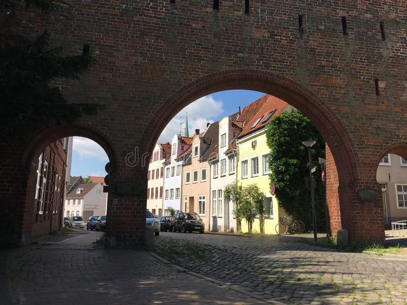 De Burgtor-Poort royalty-vrije stock foto