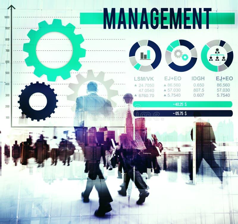 De Bus Concept van leidersleadership management director royalty-vrije stock afbeeldingen