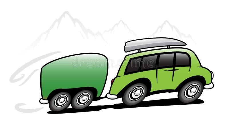 De bus van de reis vector illustratie