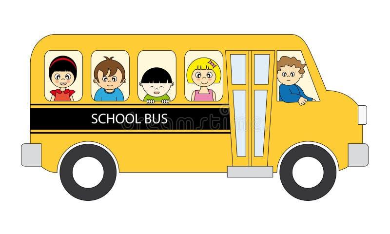 De bus van de school vector illustratie