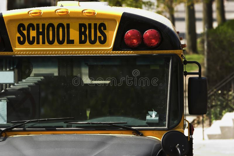 Schoolbus stock fotografie