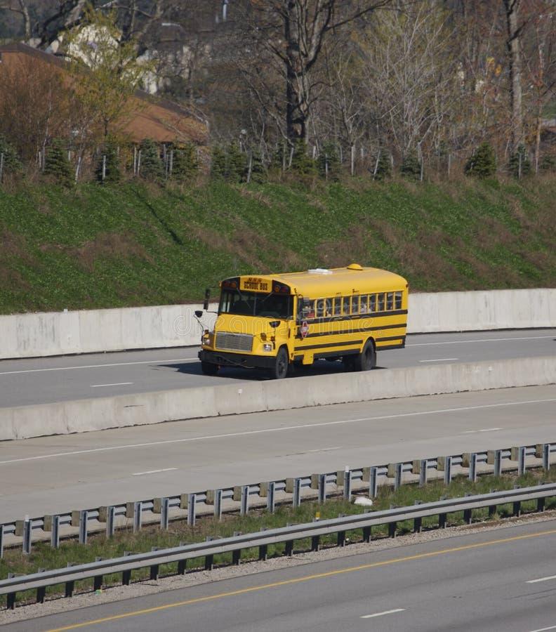 Schoolbus royalty-vrije stock foto's