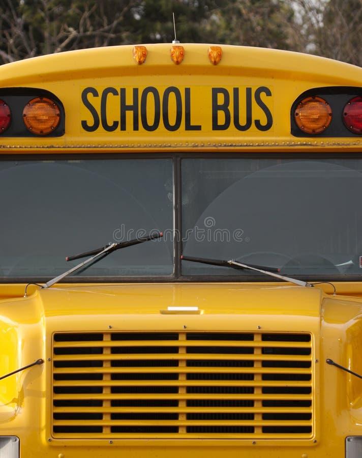 De Bussen van de school stock foto