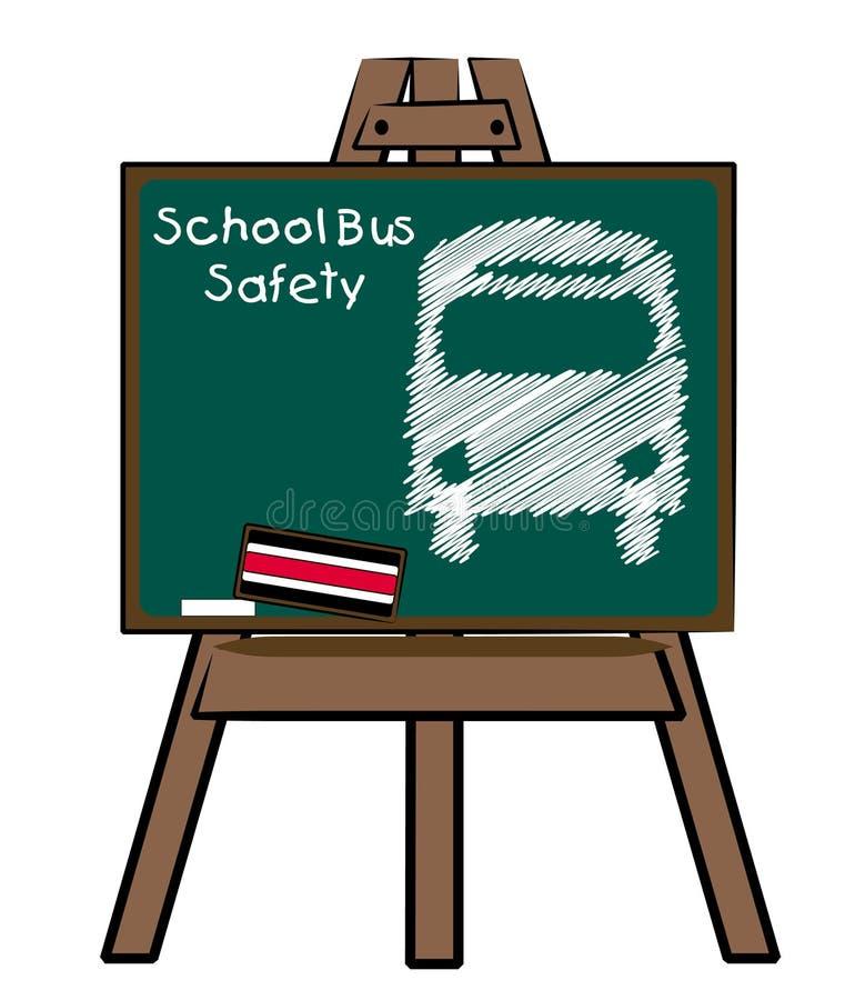 De busveiligheid van de school stock illustratie