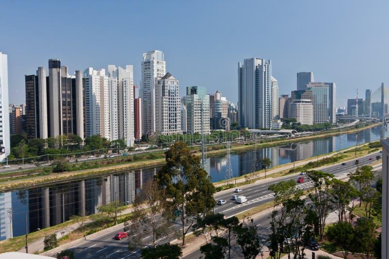 De Buurt Sao Paulo van Brooklin royalty-vrije stock foto