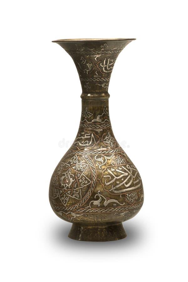 De byzantijnse vaas van Anncient royalty-vrije stock afbeelding
