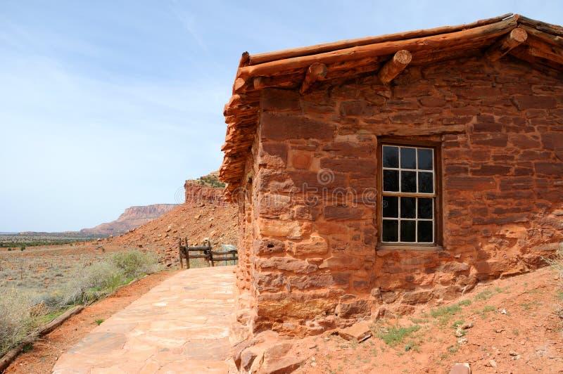 De Cabine van de steen - het Nationale Monument van de Lentes van de Pijp stock afbeeldingen