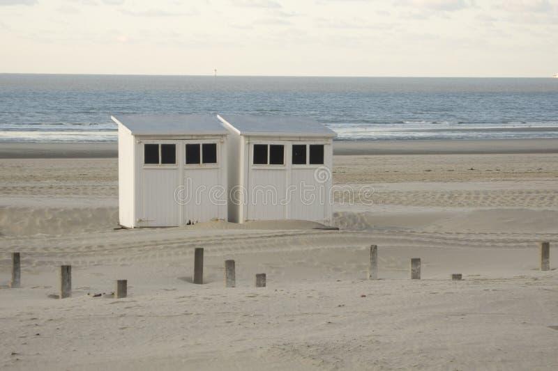De cabine van het strand royalty-vrije stock foto