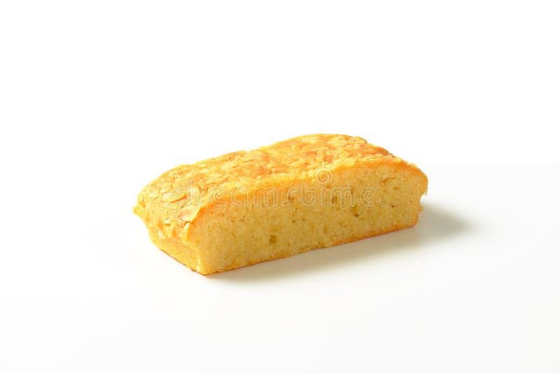 De Cake van amandelmadera stock afbeelding