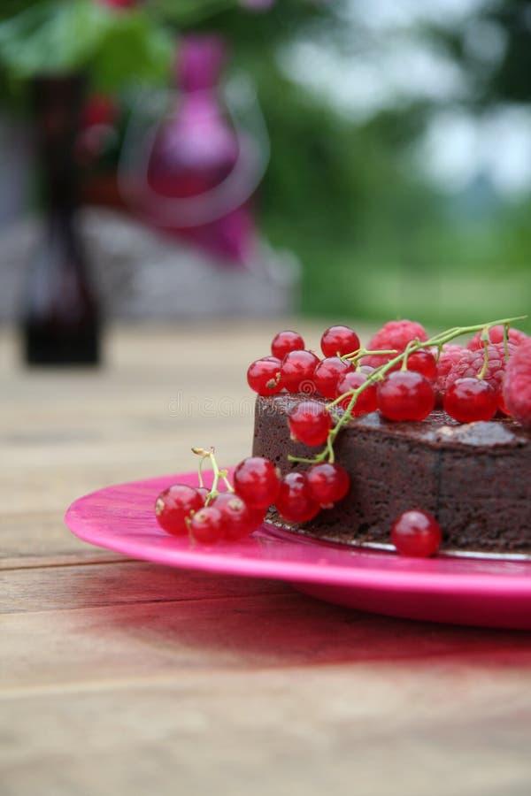 De cake van Choclate royalty-vrije stock afbeelding