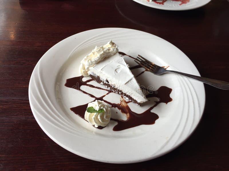 De Cake van de dessertmousse stock afbeeldingen