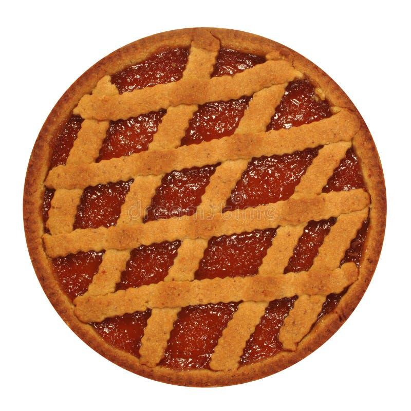 De cake van de jam stock afbeelding