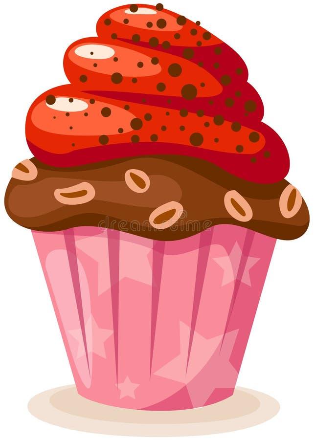 De cake van de kop vector illustratie