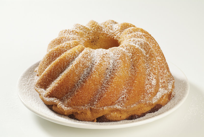 De Cake van de ring met de Suiker van het Suikerglazuur