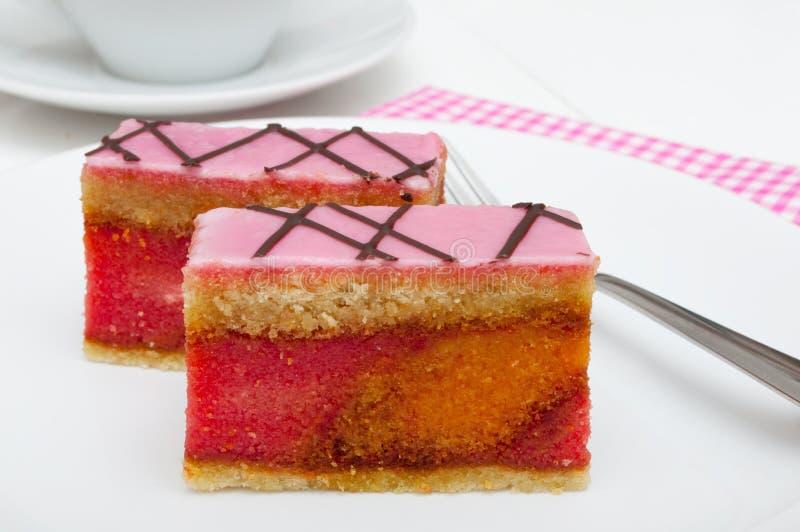 De Cake van de stempel royalty-vrije stock afbeeldingen