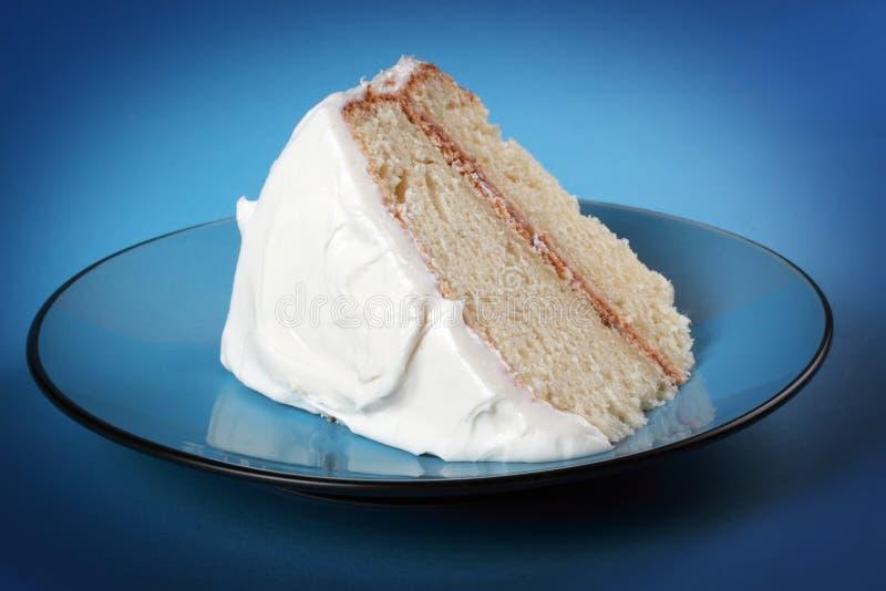 De cake van de vanille stock fotografie