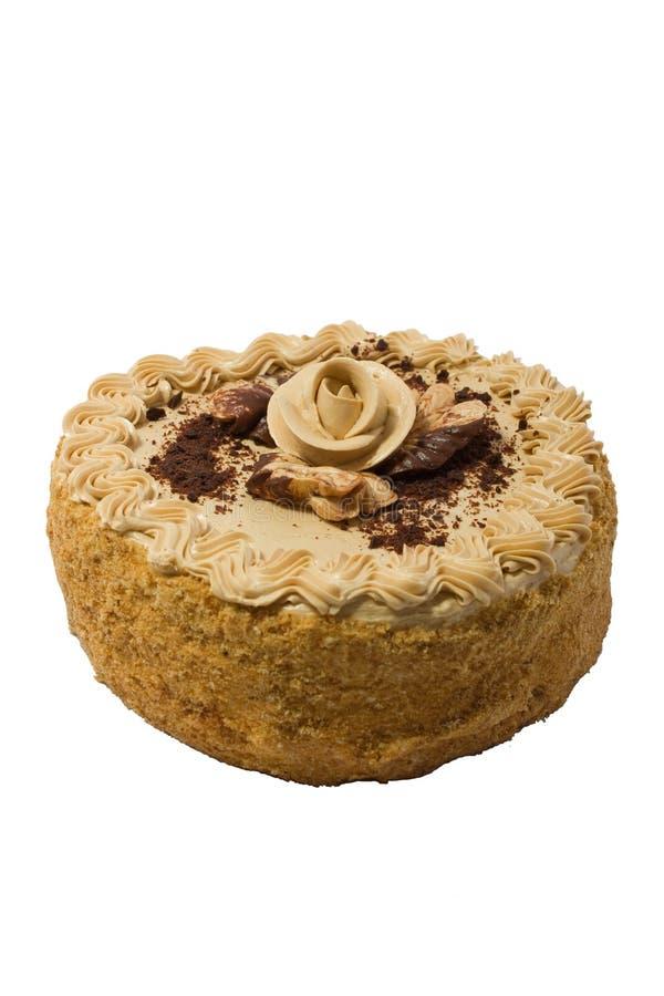 De cake van de viering royalty-vrije stock foto