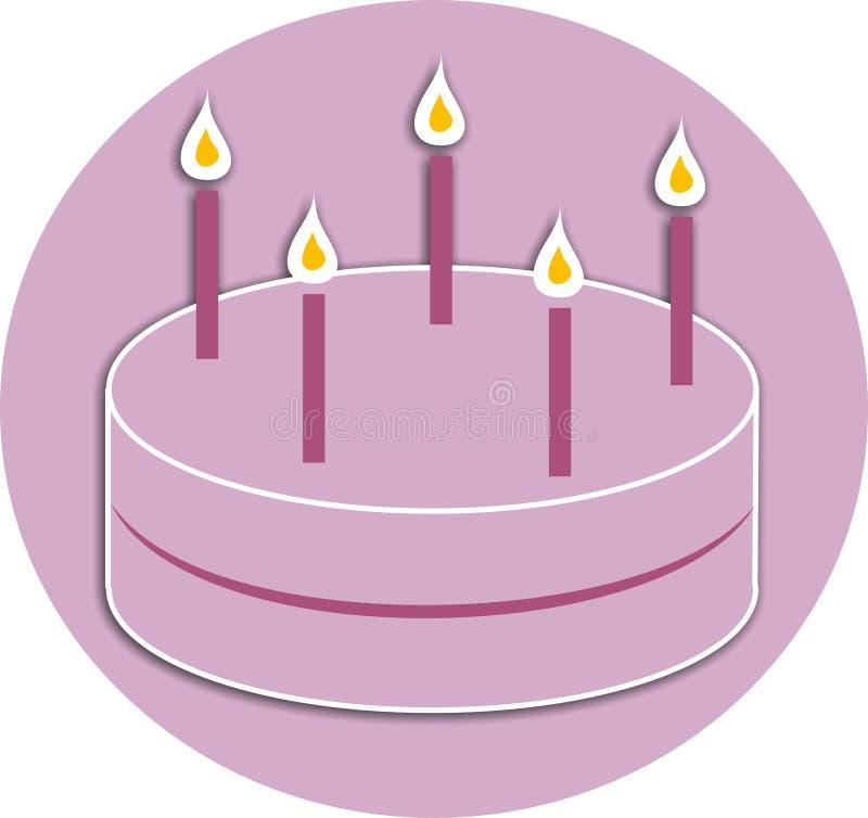 De Cake Van De Viering Royalty-vrije Stock Afbeeldingen