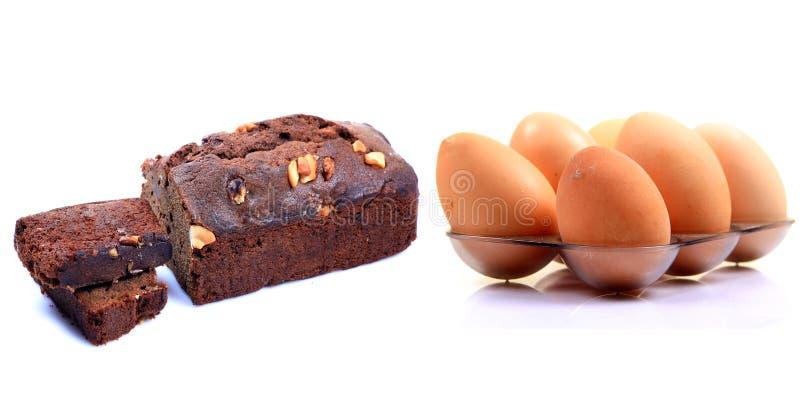 De Cake Van Het Ei Stock Foto